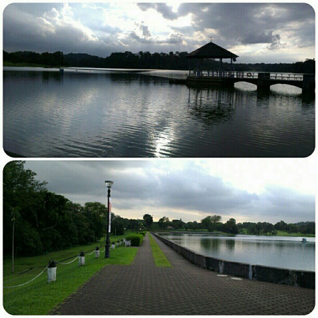 We are here, where it all started. Sunset Datingdays Piercereservoir Qualitytime