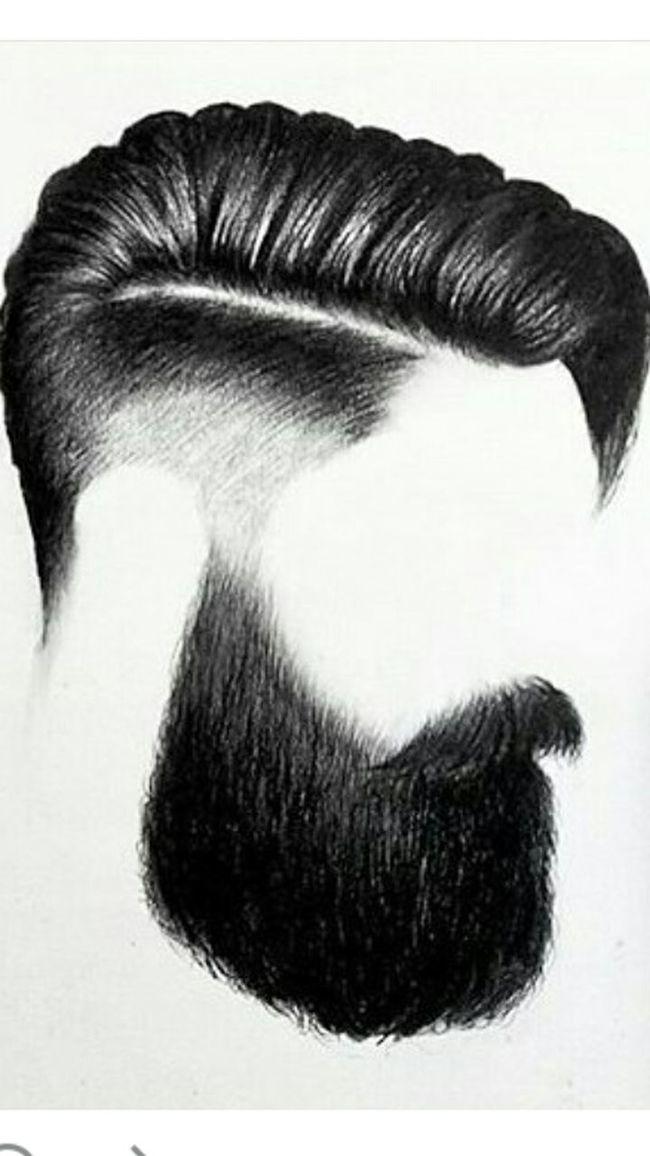 Close-up Bearded Sktchy