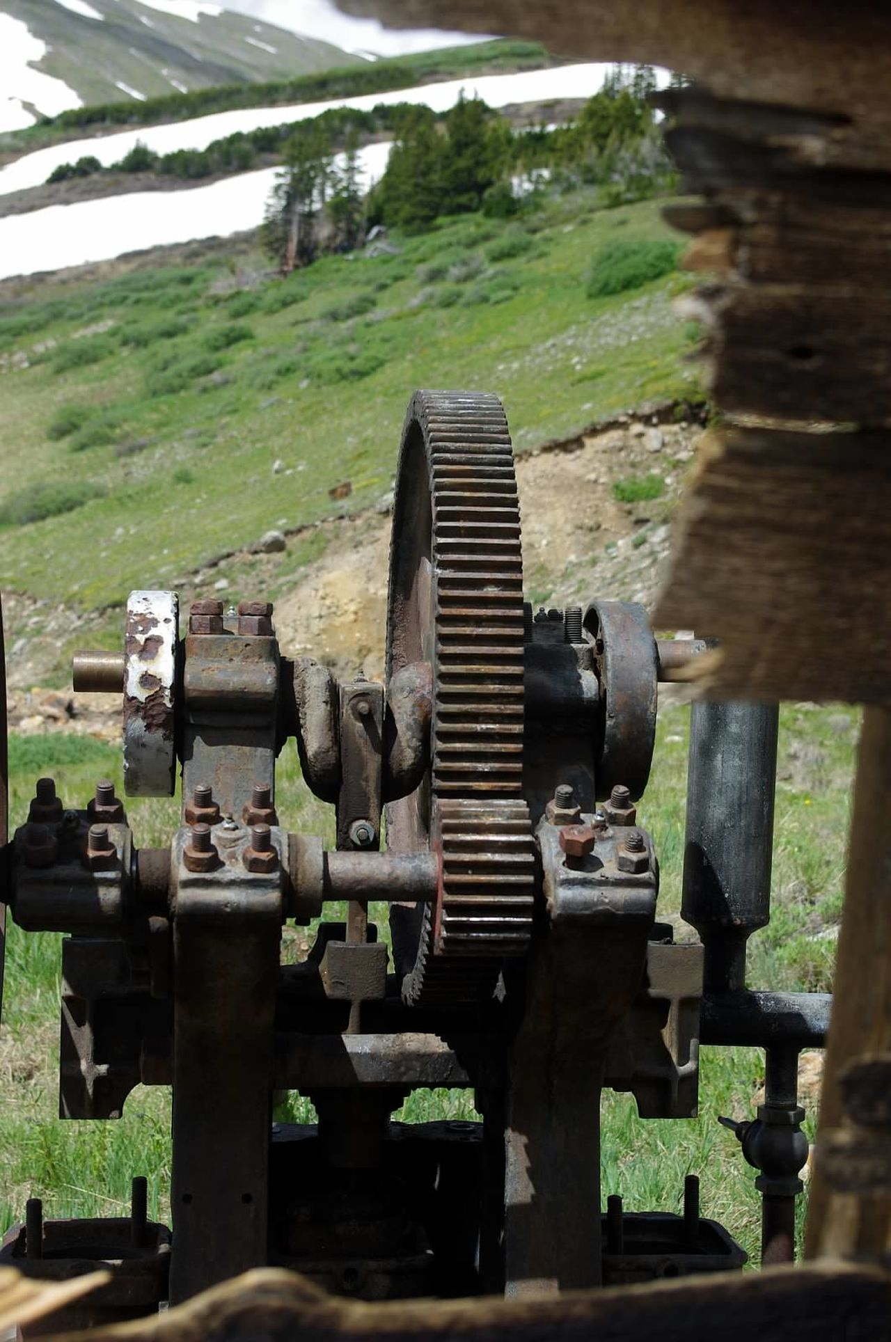 Mining Equipment Santiago Mine Argentine Pass Mining Heritage Mining History Of America Colorado Photography Colorado