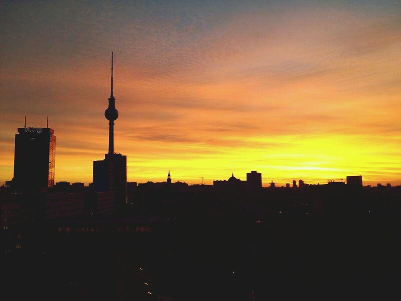 Sunset_collection Sunset My Fuckin Berlin Skyline