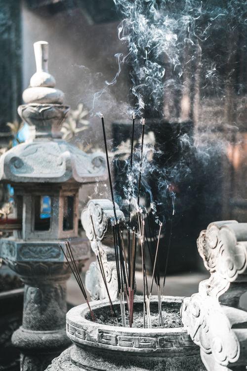 New year trip visit Pagoda. Pray for Monkey year. Anice Incense Incense Burner Incense Sticks Incenseholder Pagoda Paris S Sculpture Sunbeam