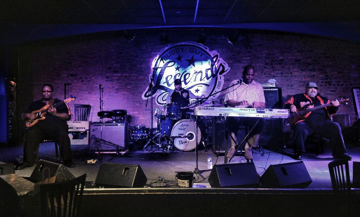 Joe Barr at Buddy Guy's Legends Chicago Live Blues Music Live Music Chicago Singing The Blues ChiTown Musician