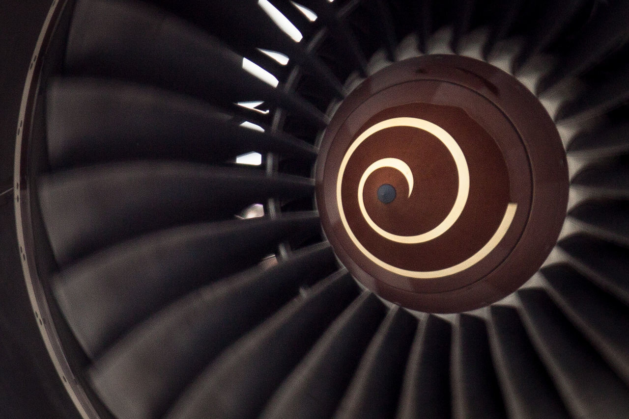 Turbine Aircraft Airport Rotation Rotating Deceptively Simple