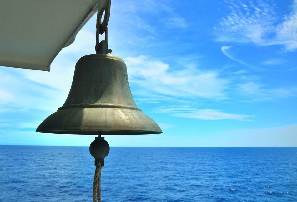 Bell sea and sky The Bell  Ship Bell The Ship Blue Sky Between The Sea And Ship
