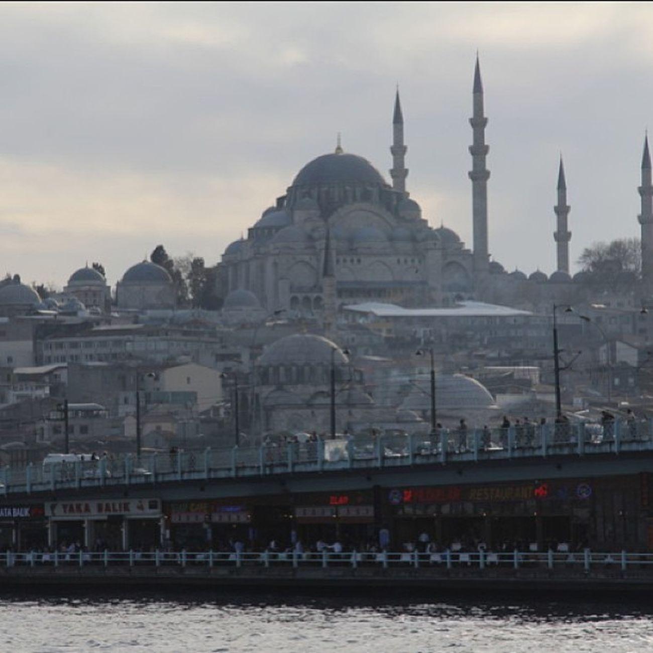 Istanbul City Sehir Citylife manzara nature eminonu galata galatakoprusu kopru bridge suleymaniyecamii suleymaniye cami mosque architech mimari