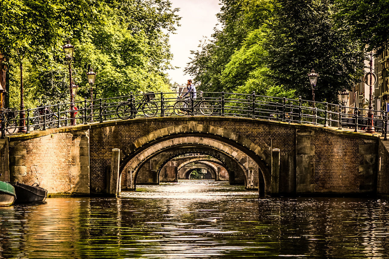 Amsterdam Canals Amsterdam Amsterdam Canal Amsterdamse Grachten Architecture Bridge Bridge - Man Made Structure Brücke Holland Kanagawa Net Water