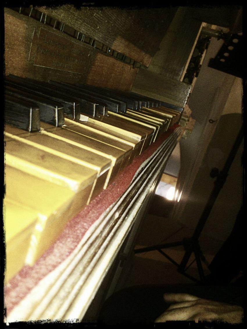Organ Keyboard Church Eye4photography