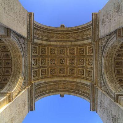 Underneath | Paris Travel Paris Arcdetriomphe