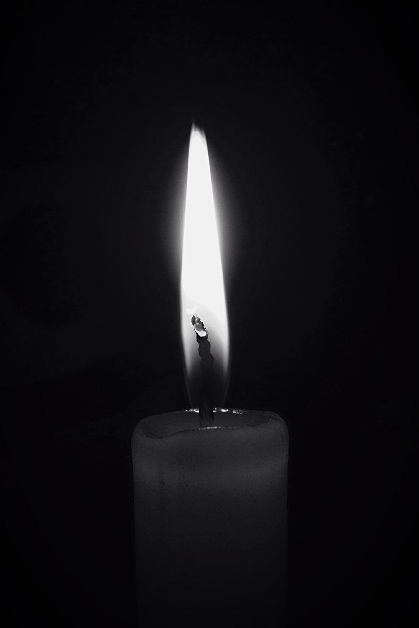 flame, burning, candle, heat - temperature, darkroom, glowing, black background, no people, close-up, studio shot, illuminated, indoors