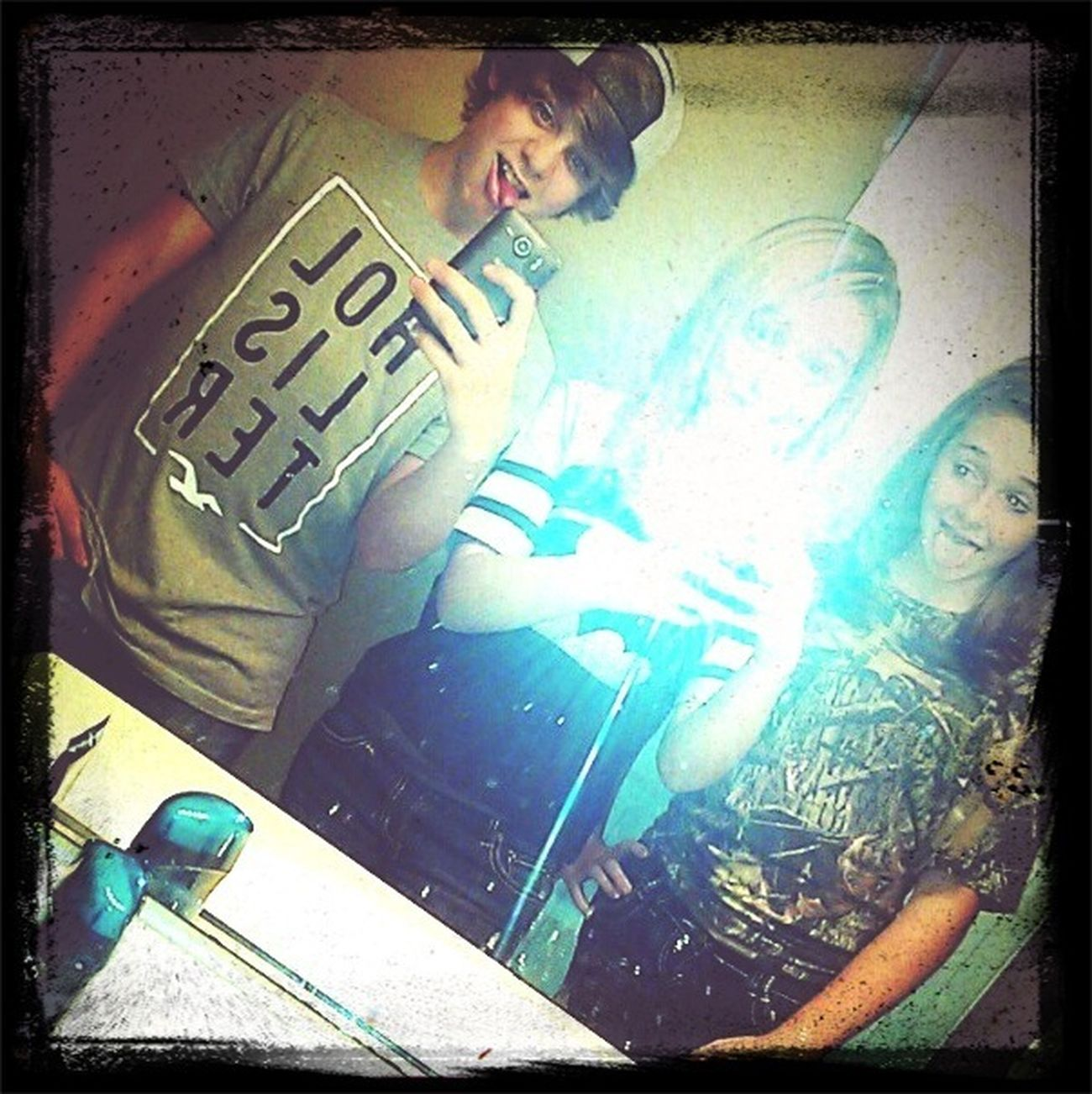 Me! Krysten! Cameron!(: Best Friends