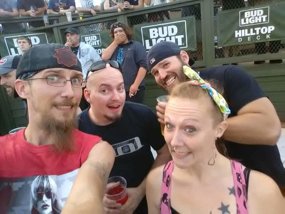 Music Brings Us Together Slipknot Fans Slipknot Concert DTE Michigan 2016♡ Very Happy! (: Music Is My Life Musicfestival So Much Funnnnnn Meeting New Friends Had A Blastt ! Slipknot Is My Life ♥♬ SlipknotTheNegativeOne Meeting New People my husband and I went to a Slipknot concert and met two complete strangers. They were the most out going funny guys. And very nice. Still talk to them
