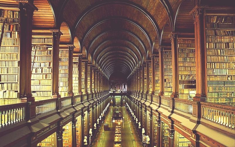 Ireland, Dublin, library of Trinity College First Eyeem Photo Architecture Library