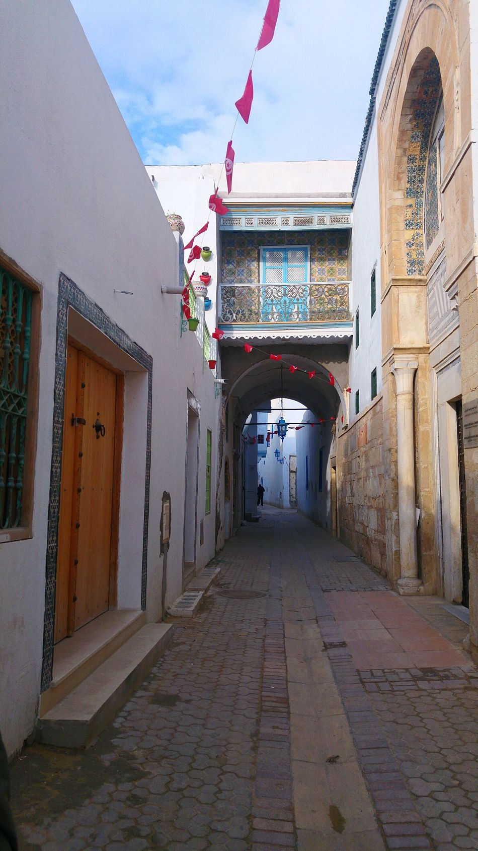 Tn Tunisia Built Structure Architecture History Day Entrance Building Exterior