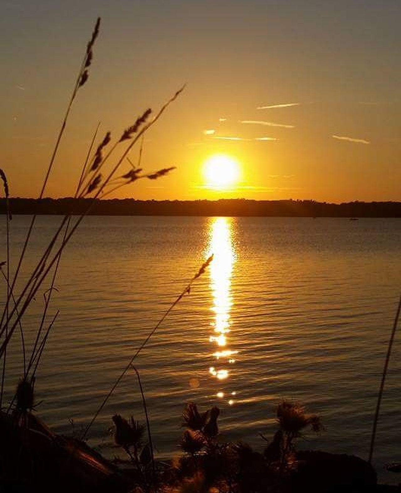 Sunset Water Landscape Nature Sky Outdoors No People Beach Lakeside Lake Mosquito Lake Ohio