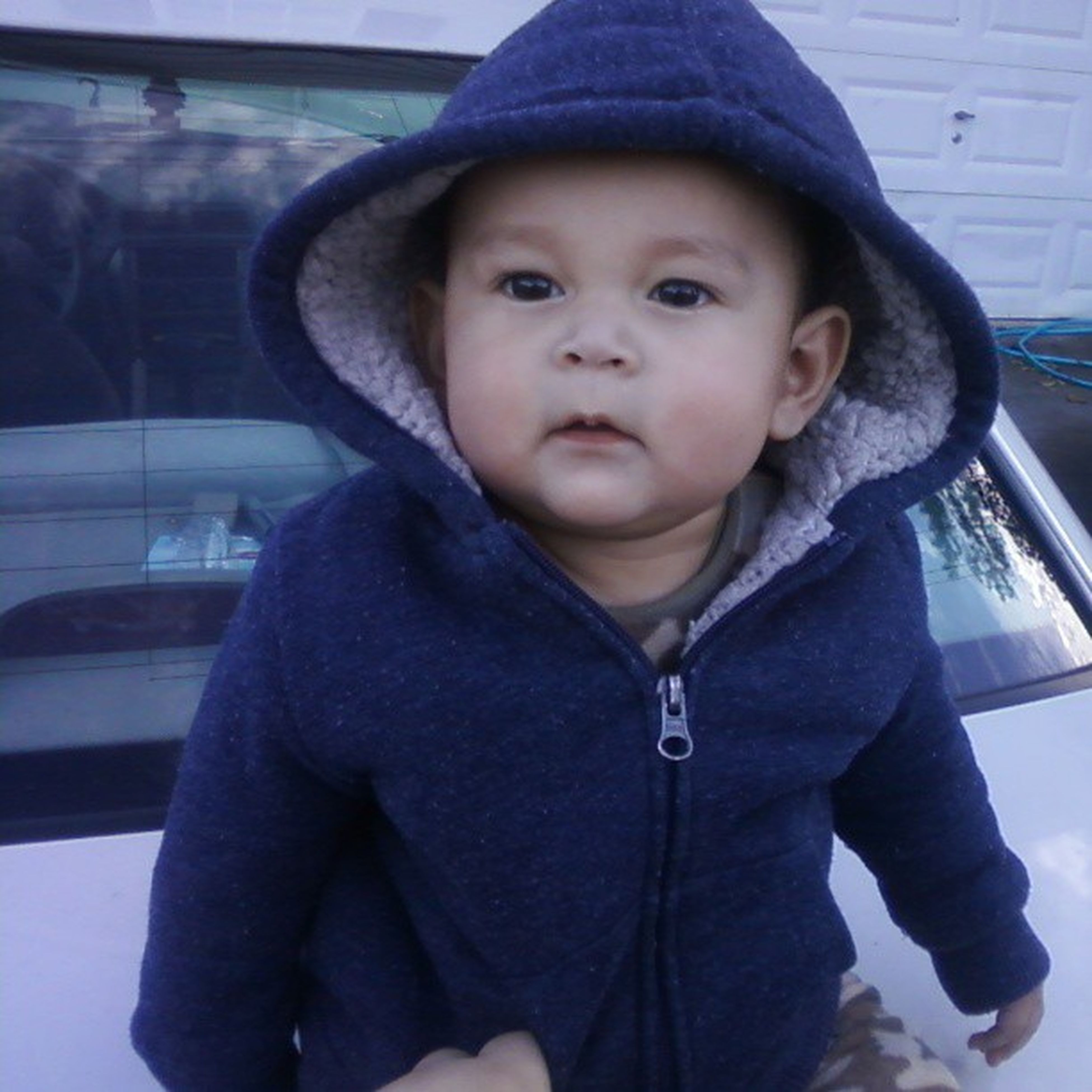 my little jaiden  Cute Chunky Baby Guerito blushing adorable