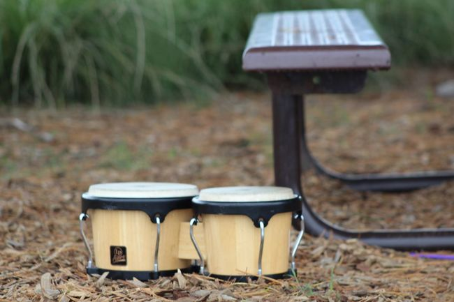 Relaxing Playing Rhythms At The Park And Shooting Pictures Rhythm Percussion Percussionist Bongo Bongos Eyemphotography Picnic Table