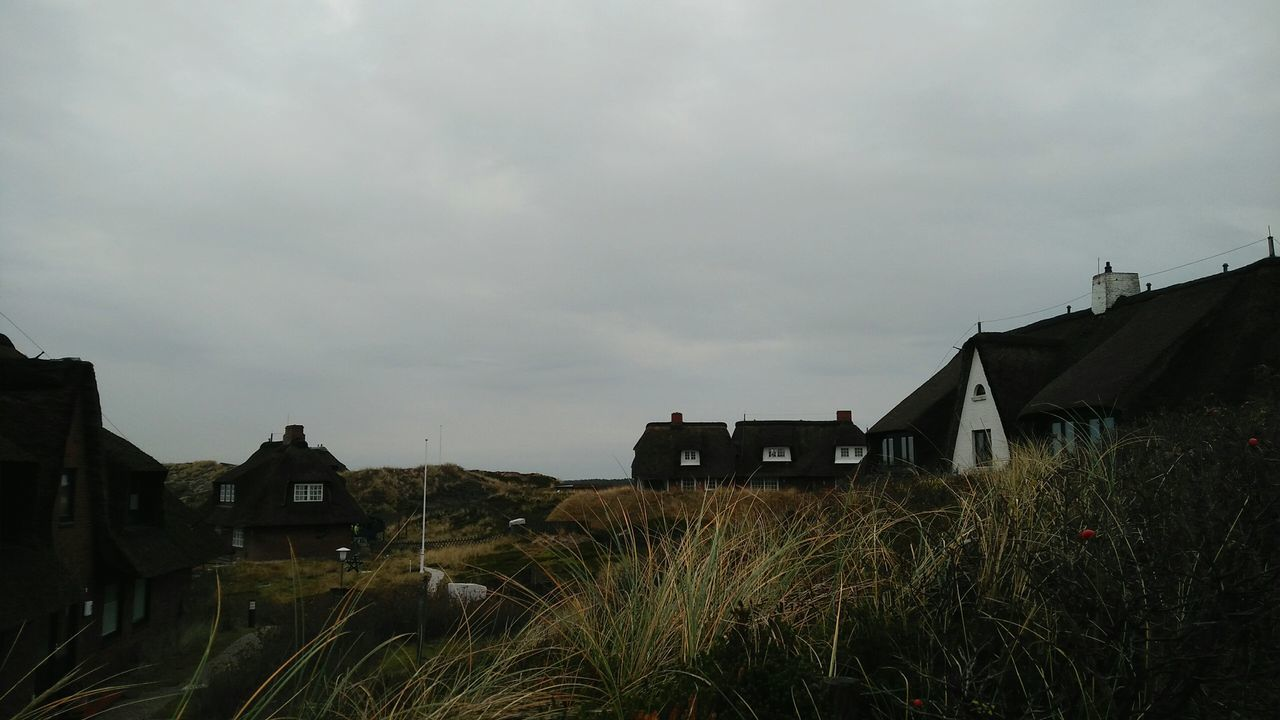 Rantum. · Sylt Germany Island Houses Buildings Reetdach Reetdachhaus Rural Landscape History European Culture Cloudy Gray Sky True Colors Beautiful Day