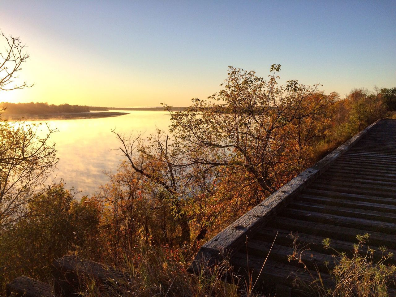 Missouri River fall
