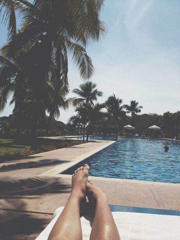 Enjoying Mexico Swimming Pool Las Brisas Huatulco