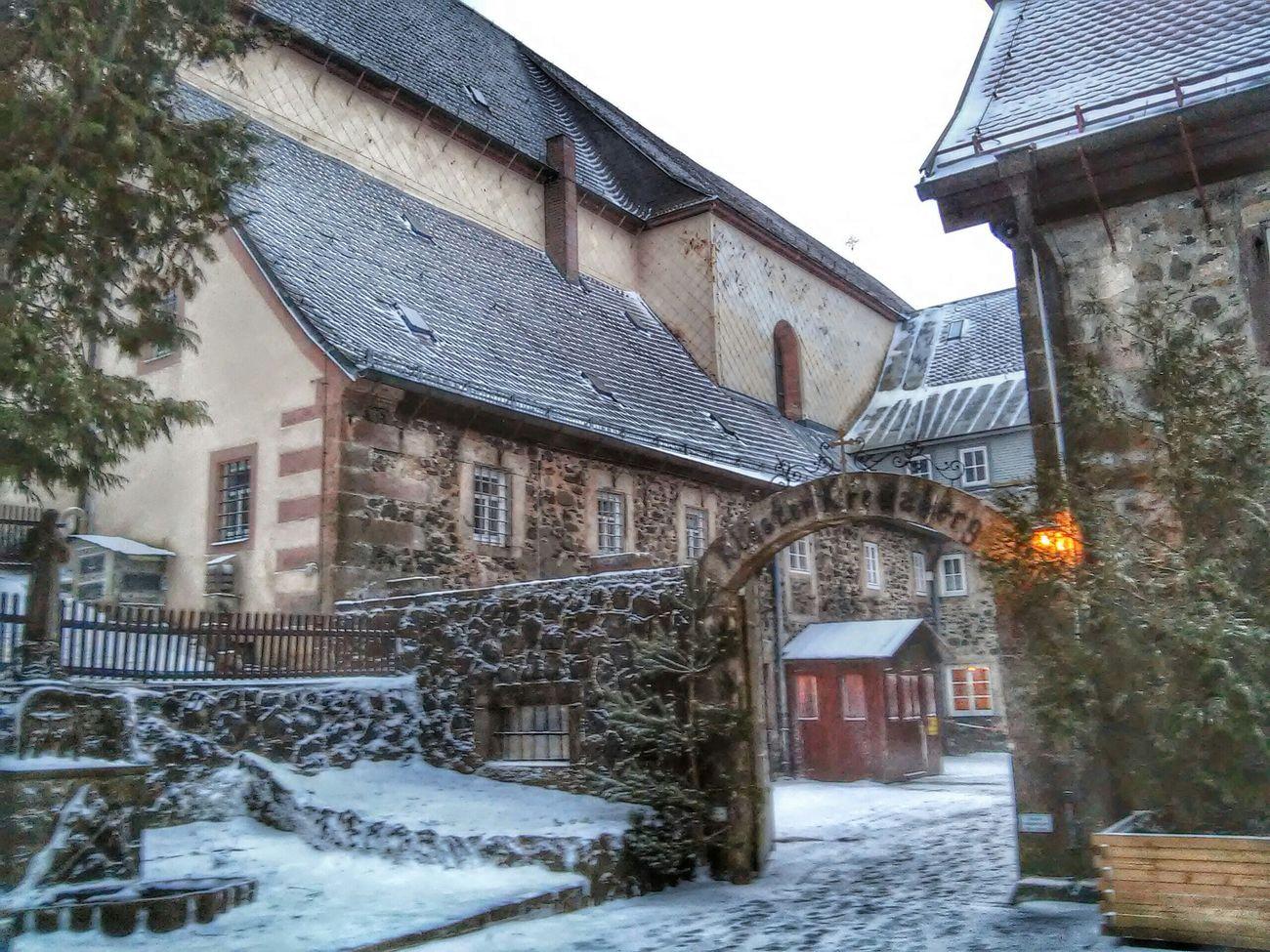 Kloster Kreuzberg Winter Wonderland ❄