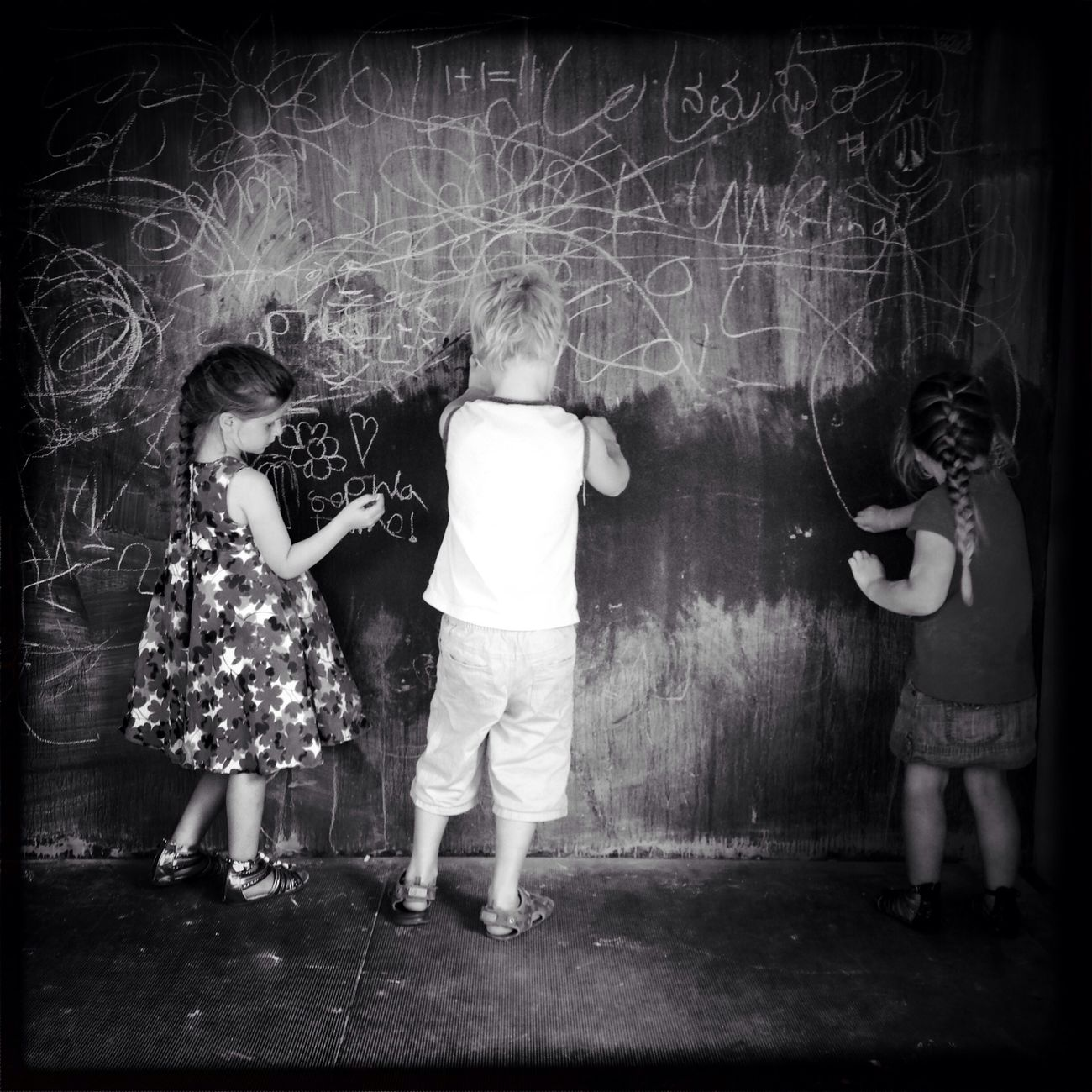 Chalk Stories The Moment - 2014 EyeEm Awards The Portraitist - 2014 EyeEm Awards The Storyteller - 2014 Eyeem Awards