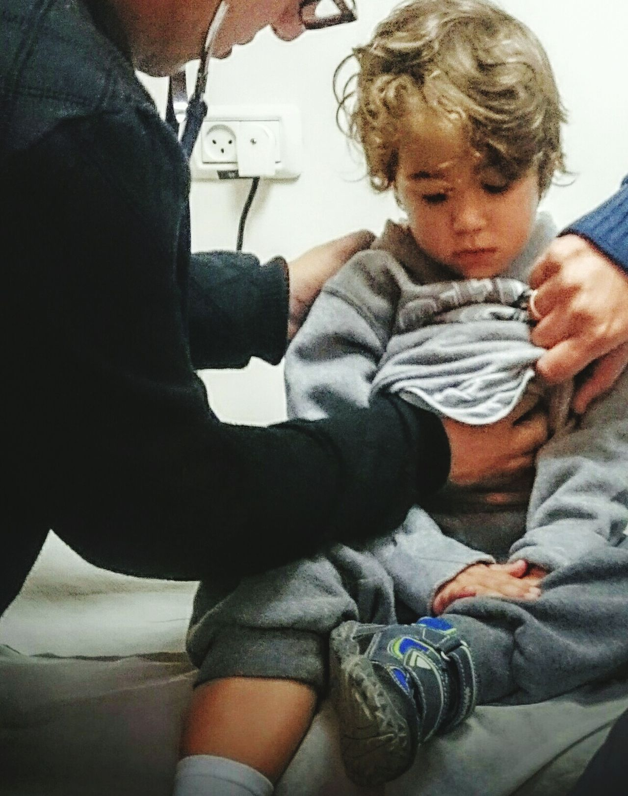 Boy Sick And Cute  Doctor