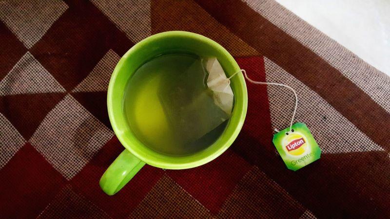 Green Tea Drink Tea - Hot Drink Green Color Food And Drink Refreshment Freshness Go Green Feel Green Go Green!!!! Go Green for me Follow Lipton Tea Lipton LiptonGreenTea