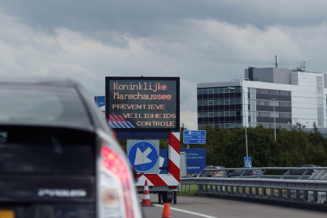 Amsterdam Airport Schiphol Traffic Jam due to Security Checks New Reality Terror Precautions