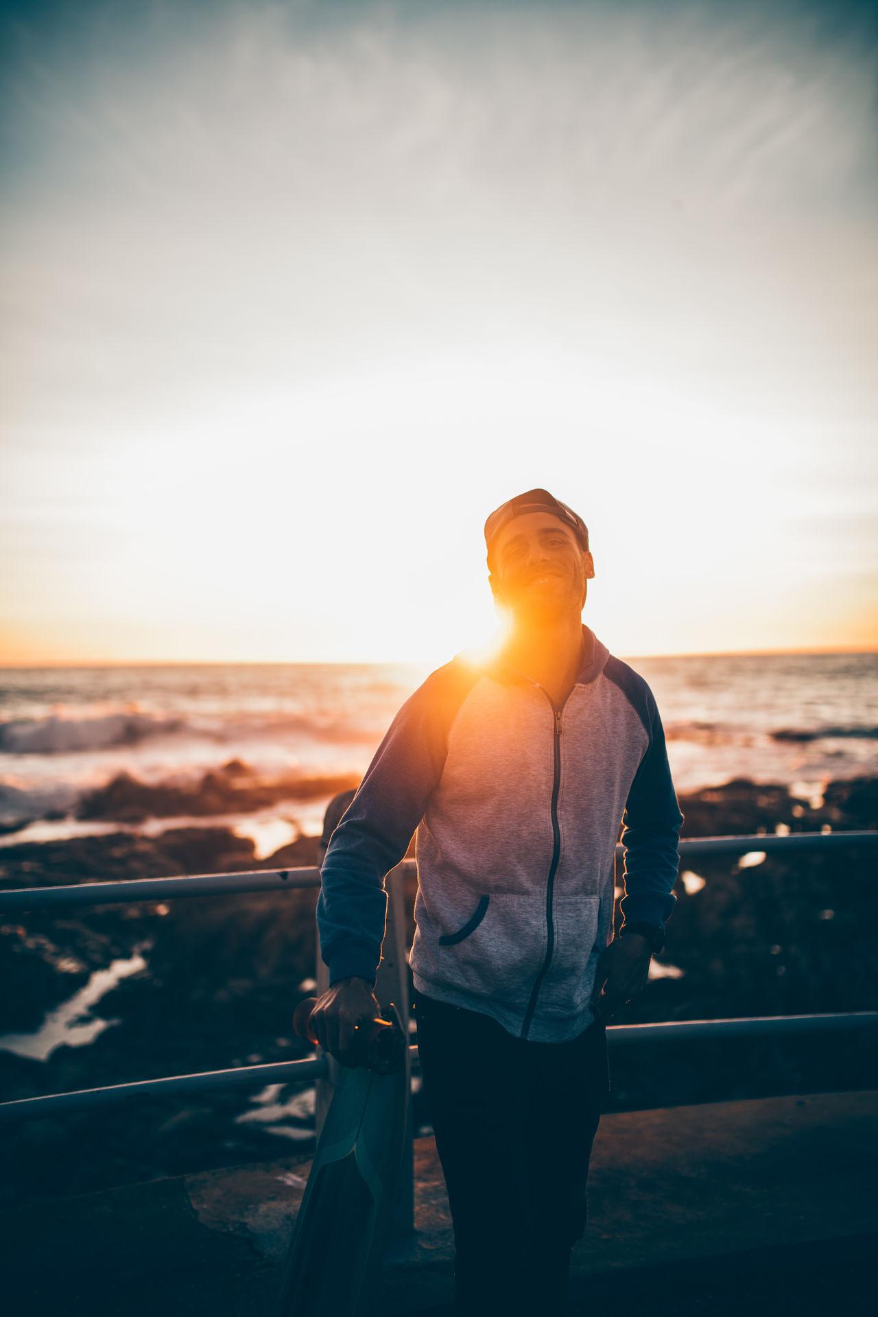 Lifestyle Longboard Smile Sunset