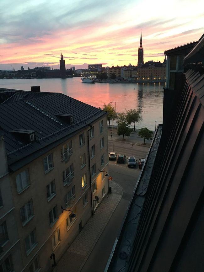 Riddarholmskyrkan Riddarholmen Stockholm The Purist (no Edit, No Filter) Stadshuset Sweden Södermalm Sunrise