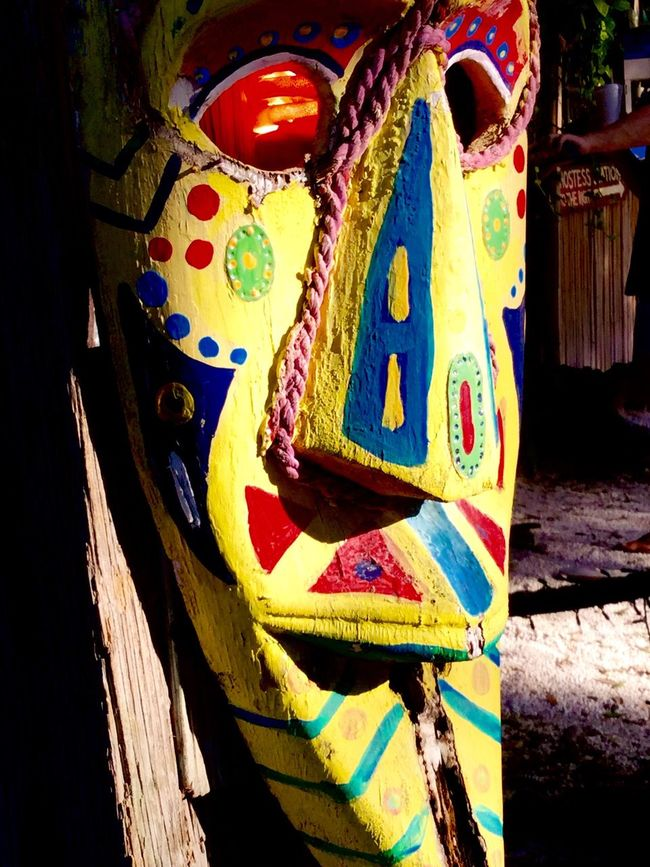 The Magic Mission No Filter Colors Vibrant Color Yellow Blue Red Mask Magic Scary Intriguing Face
