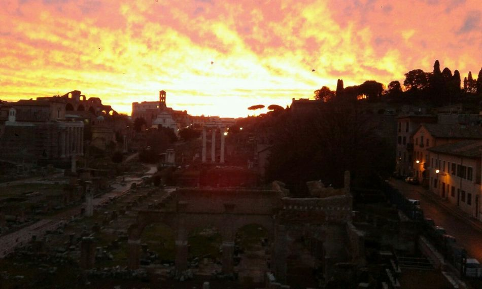 Good morning!!! This is my Sunrise! Sky Porn Rome Italy