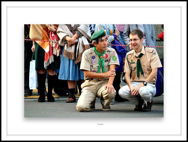 The Human Condition On Duty On Duty ! Handsome Man Boyscouts Boyscout Uniform Boyscout Of Japan Scouts Time Gaurd Duty On Duty T^T