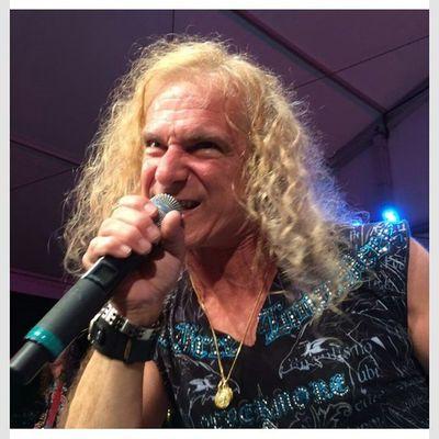 Rockers  make my work go by ...esp. David Lee Roth