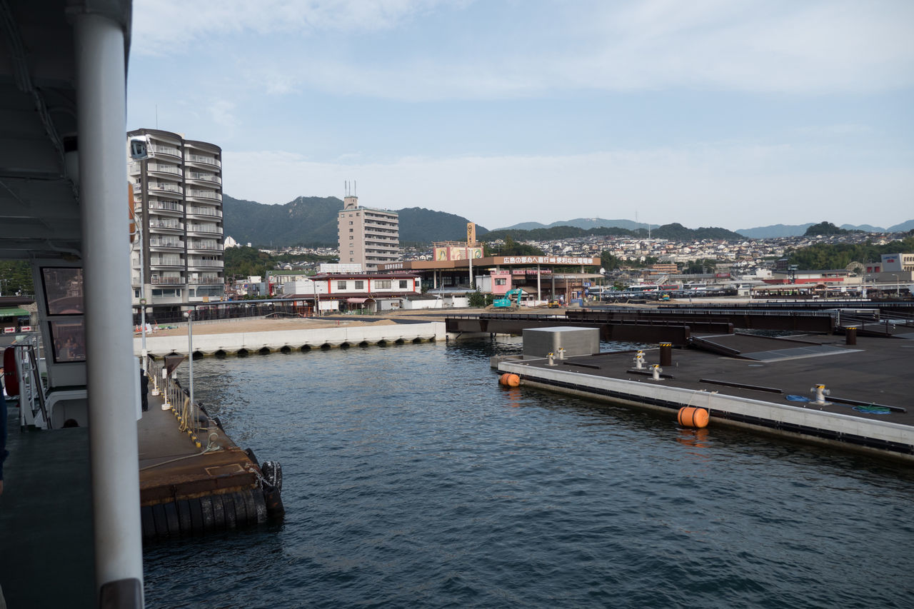 City Countryside Day Harbor Hiroshima Hiroshima -Miyajima Hiroshima,japan Miyajima No People Outdoors See Sky Water