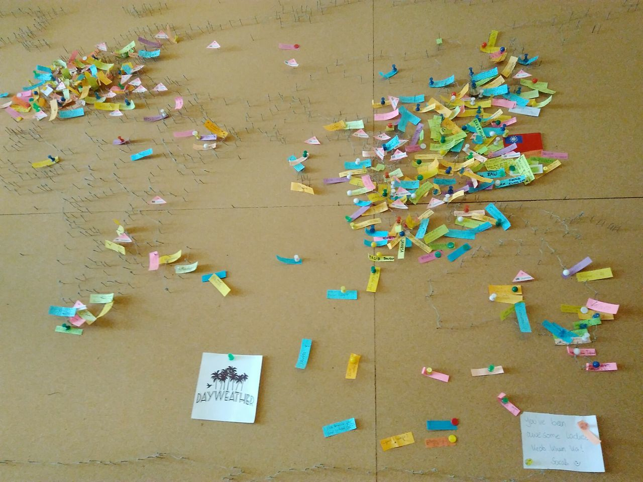 large group of objects, paper, multi colored, abundance, confetti, text, no people, celebration, indoors, day, close-up