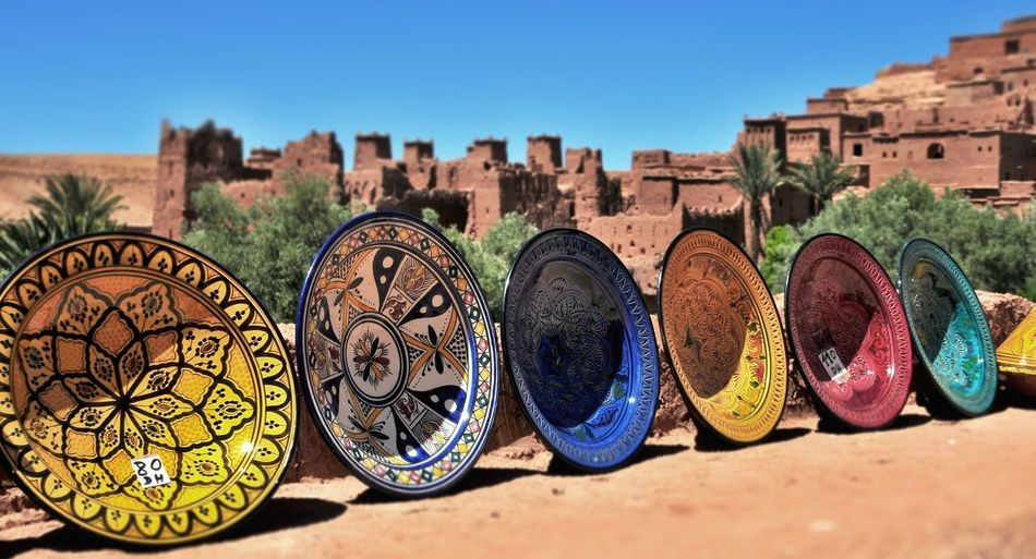 Afrika Art Ancient Architecture Building Exterior Built Structure Ceramics City Cityscape Clear Sky Close-up Day History Marocco No People Outdoors Sky Travel Destinations The City Light Been There.