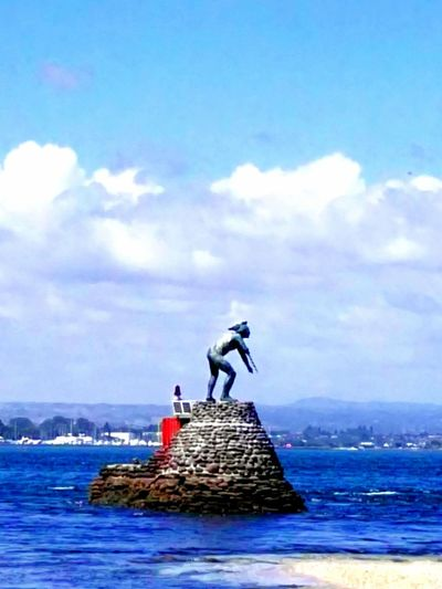 Sea Blue Guardian Tangaroa Water Cloud - Sky Sculpture