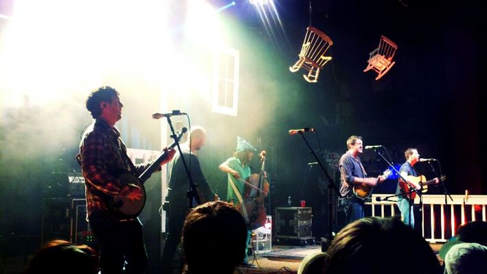 Yonder Mountain String Band at Boulder Theater by axamirault