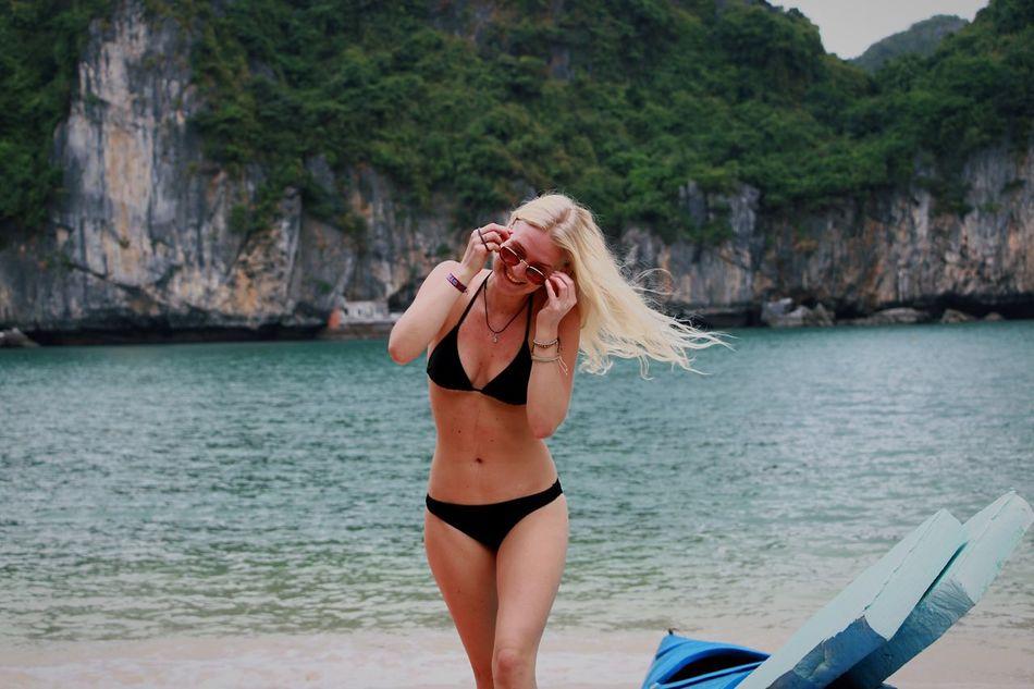 Beautiful stock photos of vietnam, vacations, beauty, beautiful people, water