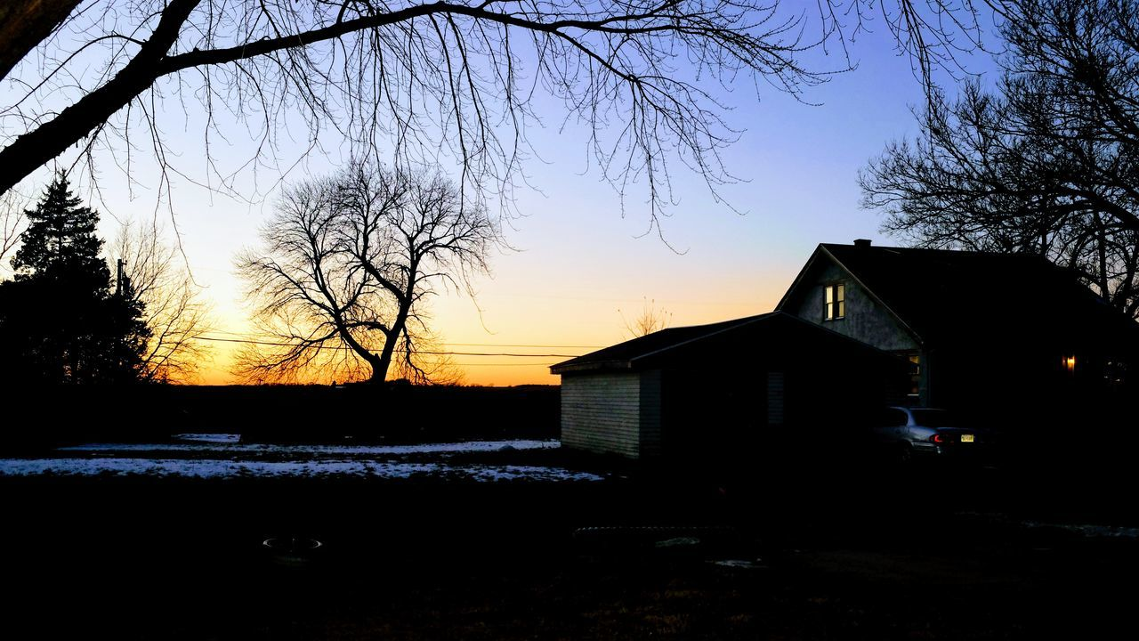 Visual Journal December 2016 Southeast Nebraska (Fujifilm X100s) edited with Google Photos. Architecture Bare Tree Building Exterior Built Structure Day Dusk Colours Dusk Sky Everyday Lives EyeEm Gallery Fuji X100s House Nature No People Outdoors Photo Diary Photo Essay Rural America Silhouette Sky Small Town Stories Sunset Taking Photos Tree Visual Journal Winter