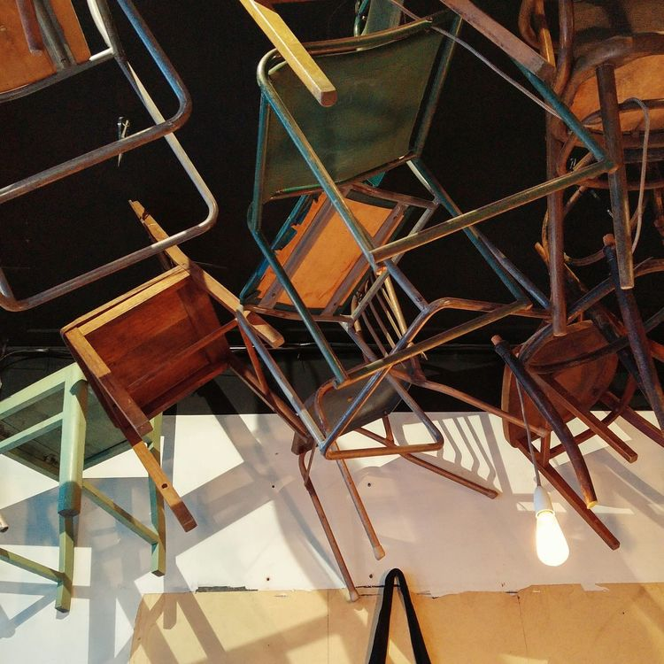 Hanging Chairs .. Interior Design Design Architecture Architecturelovers Art Melbourne Australia Cafe Travelphotography