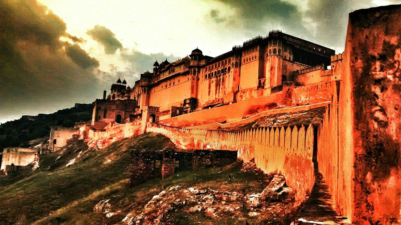 Amer fort, royal, jaipur, majestic