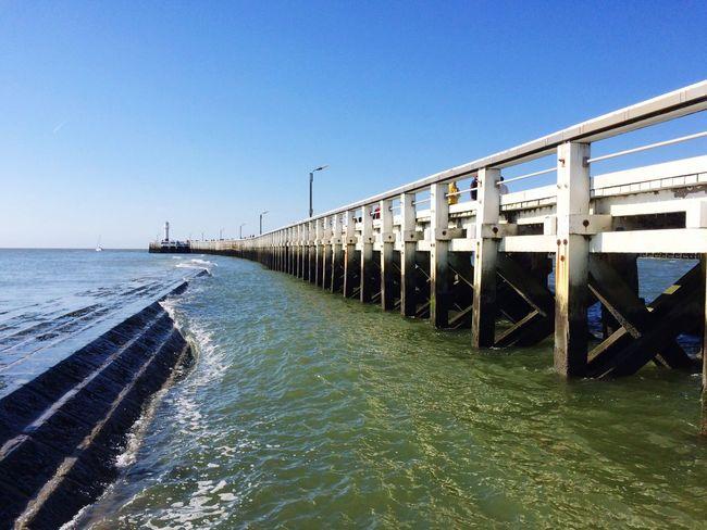 Nieuwpoort Beach Staketsel Sea Sea View