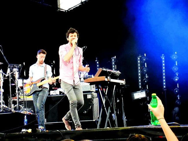 Throwback to the first MIA in Philly. Almost looks like a sprite ad Passion Pit  Made In America Music Concert