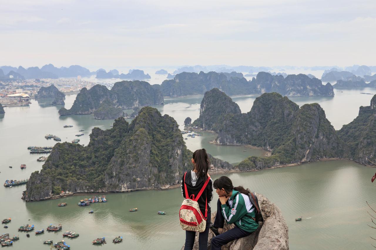 Beautiful stock photos of vietnam, mountain, two people, water, leisure activity
