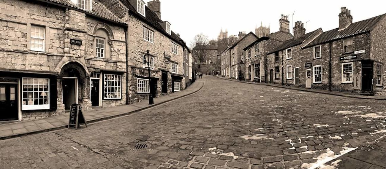 No People Lincoln Steep Hill