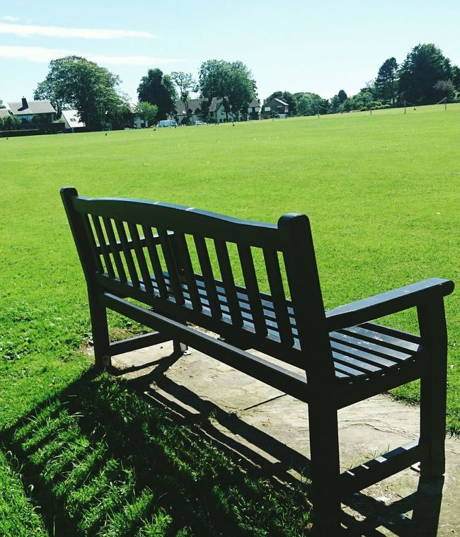 Village Life Village Green Country Life Countryside Green Tranquil Scene Rural Scene Peace And Quiet Picturesque Away From It All Bench Beauty Spot Rest Awhile Check This Out Taking Photos Hello World Wrea Green, Lancashire, UK.