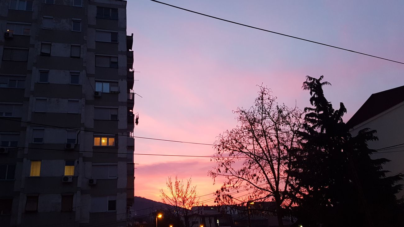 Sunset No People Sky Outdoors City First Eyeem Photo Nofilter