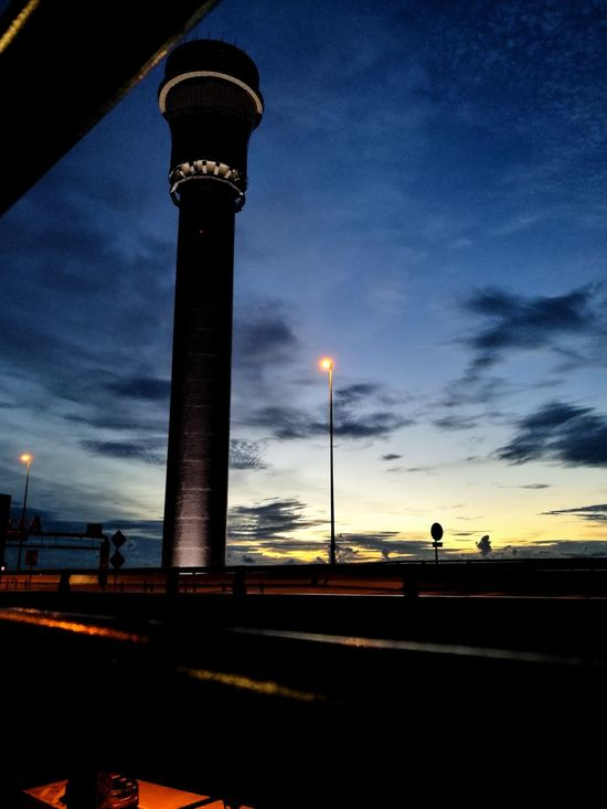 Cloud - Sky Outdoors Airport Terminal Airport Tower KLIA 2